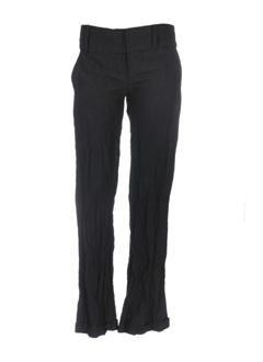 jayko pantalons femme de couleur marron