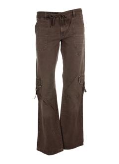 meltin'pot pantalons femme de couleur taupe