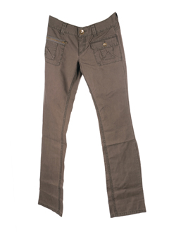 xx by mexx pantalons femme de couleur taupe