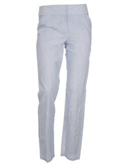 Pantalon casual rayure LES PRAIRIES DE PARIS pour femme