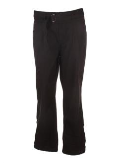 capuccina pantalons femme de couleur noir