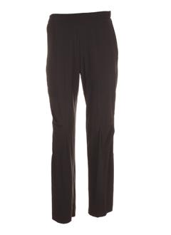 Pantalon casual noir OLIVER JUNG pour femme