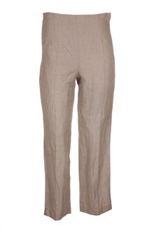 lino factory pantacourts femme de couleur beige