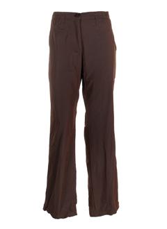 rivieres de lune pantalons femme de couleur aubergine