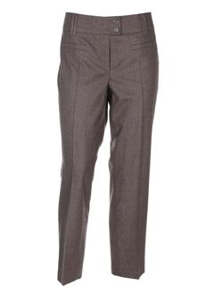 cambio pantalons femme de couleur taupe