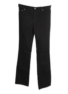 denim studio jeans femme de couleur noir