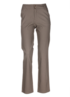 Pantalon casual taupe ROSA ROSAM pour femme