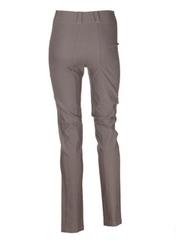 Pantalon casual taupe ROSA ROSAM pour femme seconde vue