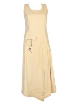 coco menthe robes femme de couleur beige
