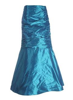 linea raffaelli robes femme de couleur turquoise