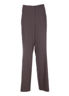 Pantalon chic marron ORWELL pour femme