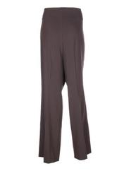 Pantalon chic marron ORWELL pour femme seconde vue