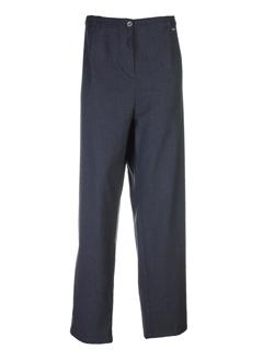 Pantalon casual gris LEWINGER pour femme