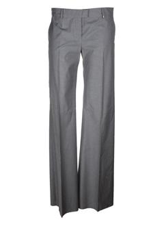 sportmax pantalons femme de couleur gris