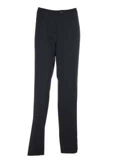 luisa cerano pantalons femme de couleur noir