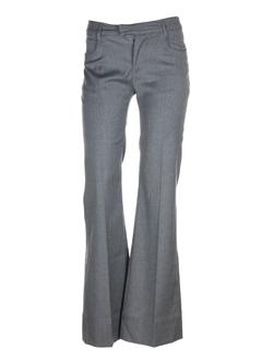 Pantalon chic gris chine FAIRLY pour femme