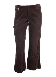 Pantalon chic marron MEXX pour femme