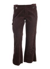 Pantalon chic marron MEXX pour femme seconde vue