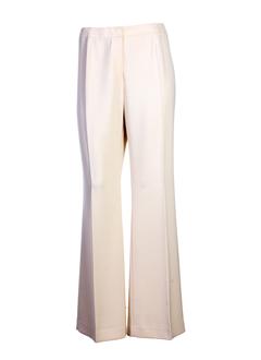 gerard pasquier pantalons femme de couleur beige