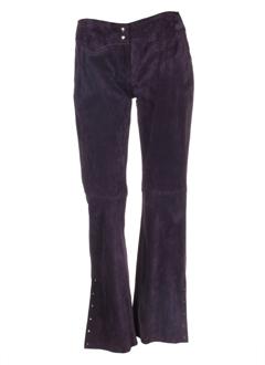la canadienne pantalons femme de couleur violet