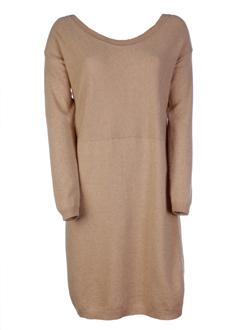 hache robes femme de couleur marron clair
