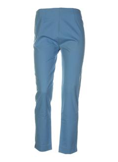 benetton pantalons femme de couleur bleu ciel