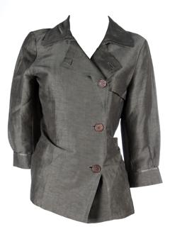maxmara vestes femme de couleur taupe