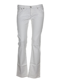 kaporal jeans femme de couleur ecru