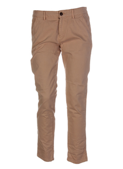reiko pantalons femme de couleur beige