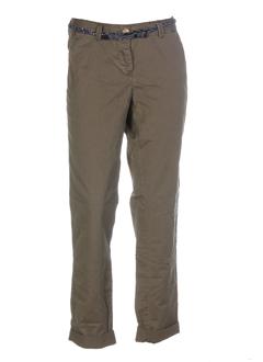 scotch pantalons femme de couleur kaki