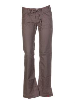 edc by esprit pantalons femme de couleur taupe