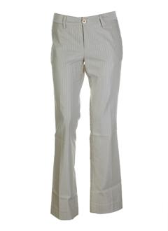 lois pantalons femme de couleur beige
