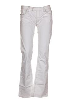 Pantalon casual blanc PHARD pour femme