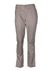 Pantalon casual beige EDC BY ESPRIT pour femme seconde vue