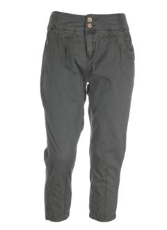 kaporal pantalons femme de couleur kaki