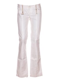 diesel pantalons femme de couleur rose pale