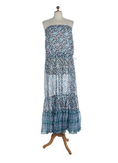 goa robes femme de couleur bleu ciel