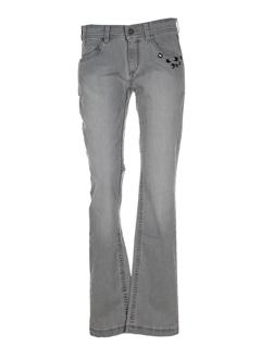 apriori jeans femme de couleur gris