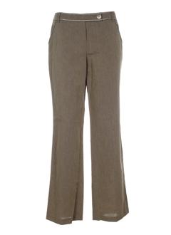 apriori pantalons femme de couleur beige