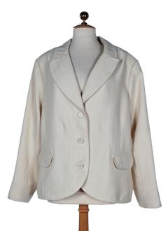 mary west vestes femme de couleur blanc casse
