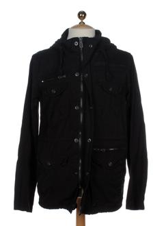 jack EFFI_CHAR_1 jones manteaux homme de couleur noir