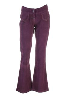 gotcha pantalons femme de couleur violet