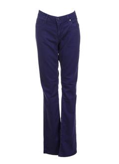 replay jeans et coupe et droite femme de couleur violet