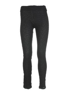 cannisse pantalons femme de couleur noir