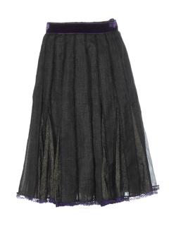 nathalie garcon jupes femme de couleur bronze