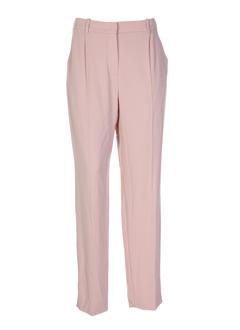sonia rykiel pantalons femme de couleur vieux rose