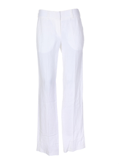 Pantalon chic blanc LOLA pour femme