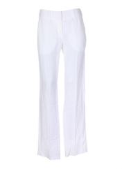 Pantalon chic blanc LOLA pour femme seconde vue