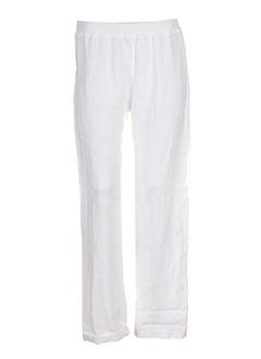 prima volta pantalons femme de couleur blanc