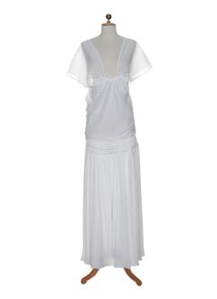 gene robes femme de couleur blanc casse
